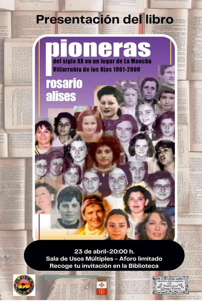Acciones por el Día del Libro en la biblioteca municipal de Villarrubia de los Ojos