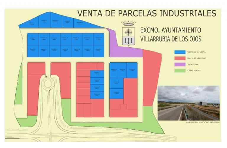 Más de 33.000 metros cuadrados de suelo industrial a la venta en Villarrubia de los Ojos