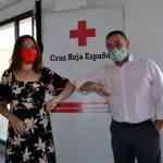 Donación a Cruz Roja de la obra social de cooperativa El Progreso